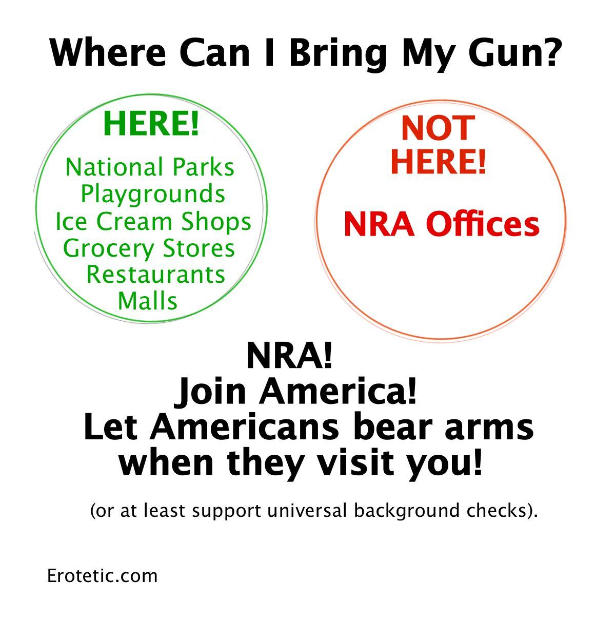 Where can I take my gun2